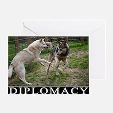 Diplomacy Greeting Card