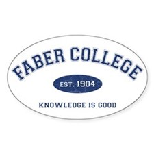 2-Faber Bumper Stickers
