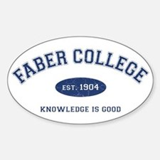 2-Faber Bumper Stickers