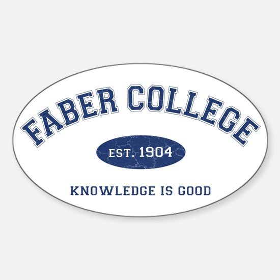2-Faber Sticker (Oval)