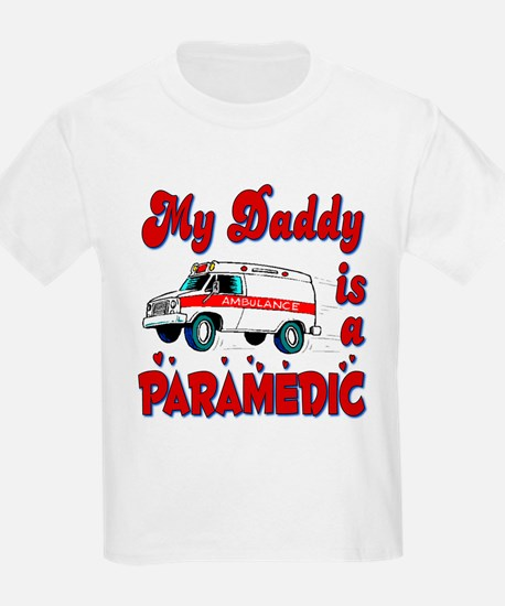 My Daddy is a Paramedic Kids T-Shirt
