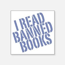 "banned4 Square Sticker 3"" x 3"""