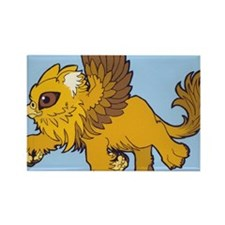baby gryphon BG Rectangle Magnet
