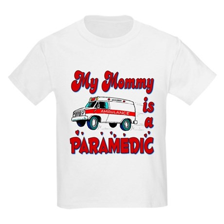 My Mommy is a Paramedic Kids T-Shirt