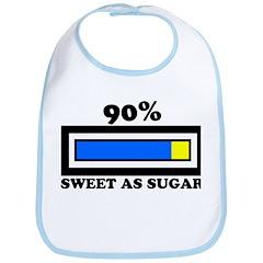 90% Sweet As Sugar Bib