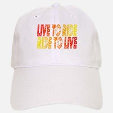 Live to Ride Baseball Baseball Cap