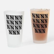 line_seventyfive Drinking Glass