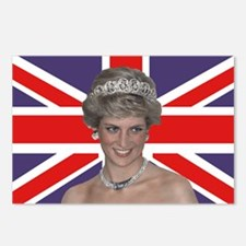Princess Diana flying the Postcards (Package of 8)