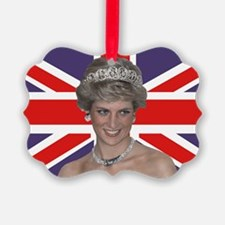 Princess Diana flying the Flag Ornament