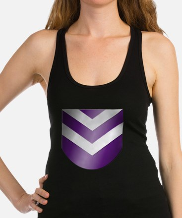 Nep-Transparent-Crest-Only Racerback Tank Top
