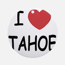 TAHOE Round Ornament