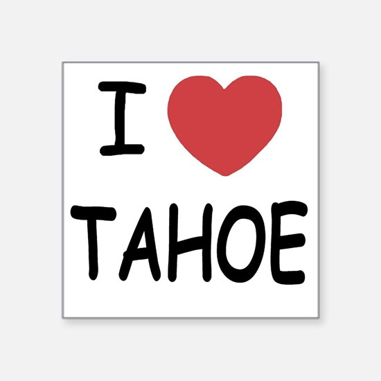 "TAHOE Square Sticker 3"" x 3"""