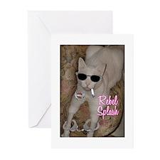 Rebel Splash Greeting Cards (Pk of 10)