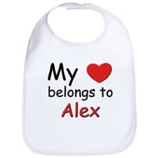 My heart belongs to alex Bib