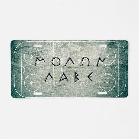 guilfoyle_grungeL Aluminum License Plate