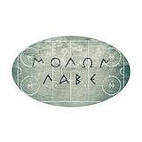 Molon labe Car Magnets