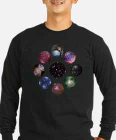 Space Collage Long Sleeve T-Shirt