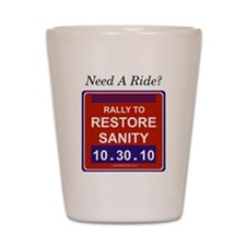 needaride Shot Glass