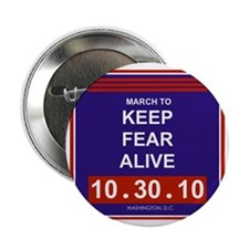 """marchtokeepfearalive3 2.25"""" Button"""