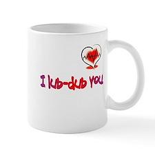 I lub-dub you Mug