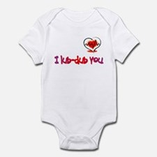 I lub-dub you Infant Bodysuit
