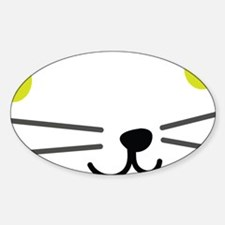 C-333 (kittie) Sticker (Oval)