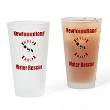 HelpLandseerHelponDark Drinking Glass