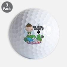 mermai4 Golf Ball