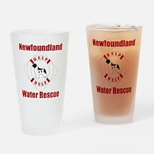 HelpLandseerHelp Drinking Glass