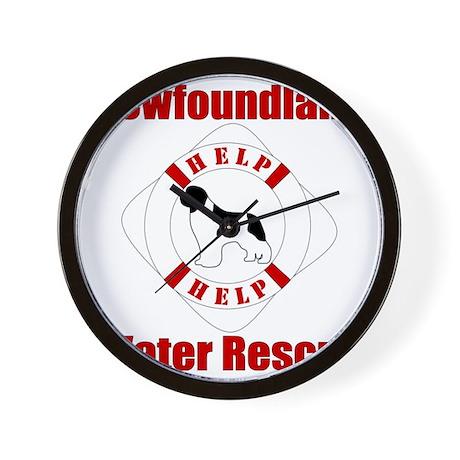 HelpLandseerHelp Wall Clock
