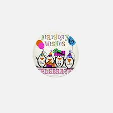PENGUINBDAY6 Mini Button
