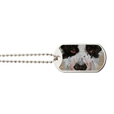 Extreme Close-up Dog Tags