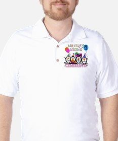 PENGUINBDAY4 Golf Shirt
