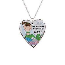 mermaidone Necklace Heart Charm