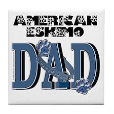 AmericanEskimoDAD Tile Coaster