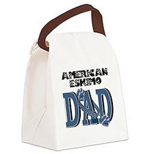 AmericanEskimoDAD Canvas Lunch Bag