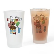 BEARTEDDY5TH Drinking Glass
