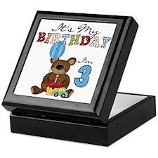 BEARTEDDY3RD Keepsake Box