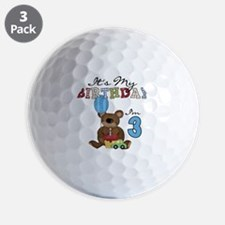 BEARTEDDY3RD Golf Ball