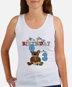 BEARTEDDY3RD Women's Tank Top