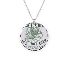halftime40 Necklace Circle Charm