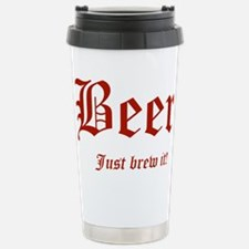 JustBrewIt Travel Mug