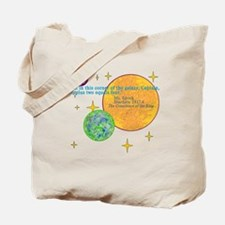 SpockMathQuote Tote Bag