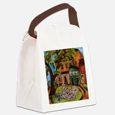 mainfl Canvas Lunch Bag