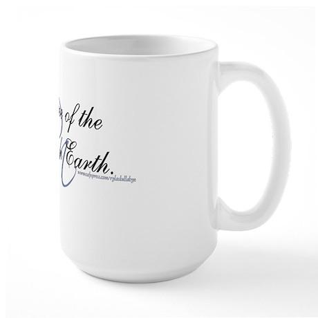 Angel on Earth Large Mug