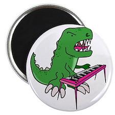 t-rex piano t-shirt Magnet