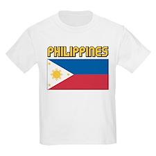 Philippines Flag Kids T-Shirt