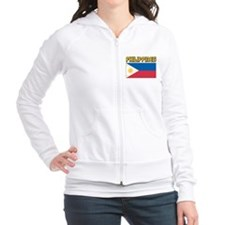 Philippines Flag Fitted Hoodie