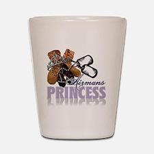 Airmans Princess Shot Glass