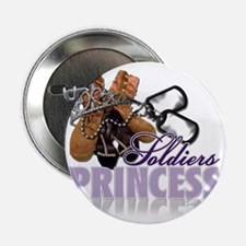 "Soldiers Princess 2.25"" Button"